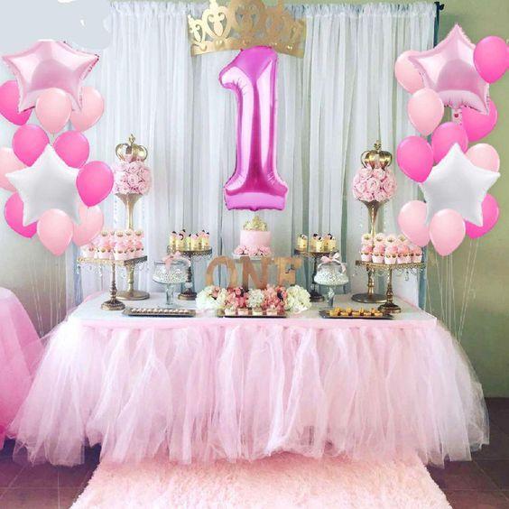 festa primeiro aniversario menina
