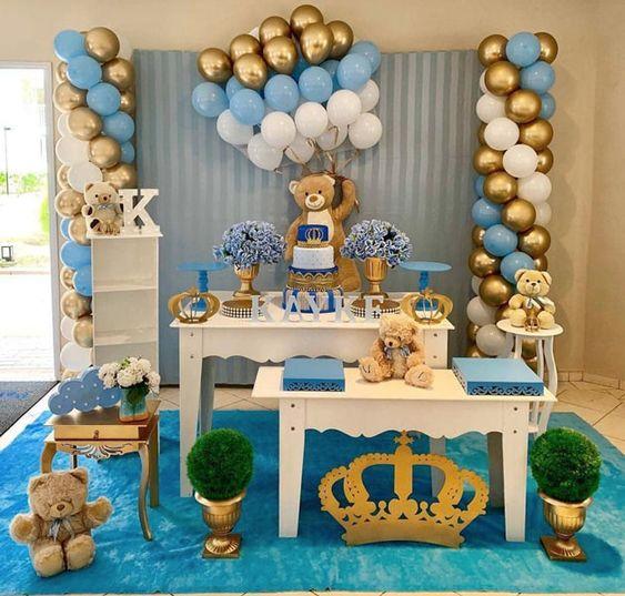 festa primeiro aniversario menino 1