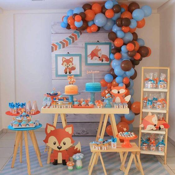 festa primeiro aniversario menino 4
