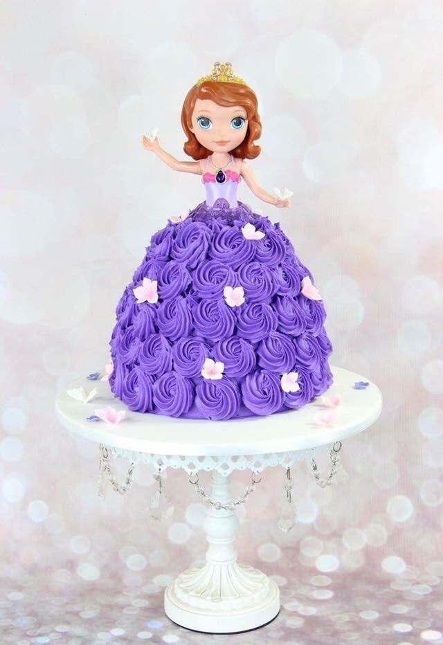 festa princesa sofia bolo boneca