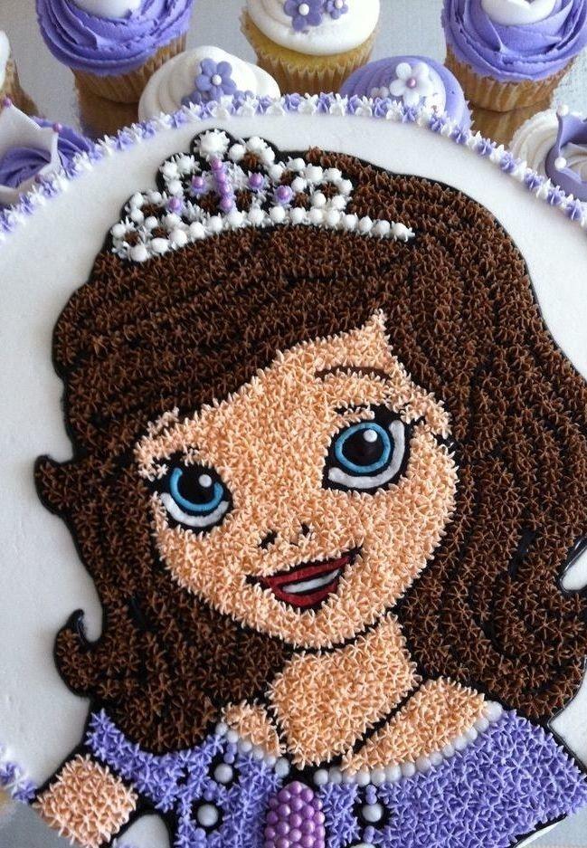festa princesa sofia bolo