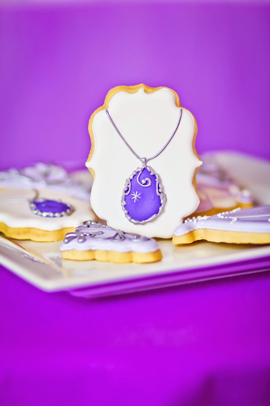 festa princesa sofia comidinha biscoitos