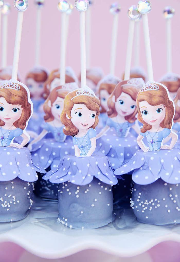festa princesa sofia comidinha