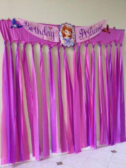 festa princesa sofia ideias fitas Cópia