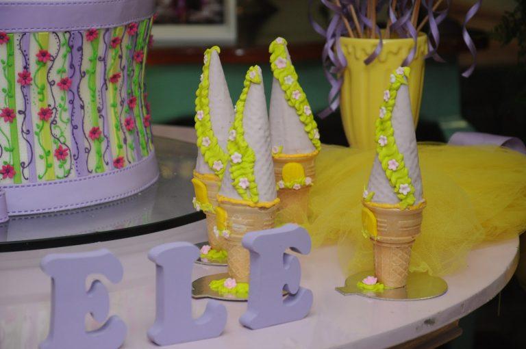 festa rapunzel enrolados ideias 1