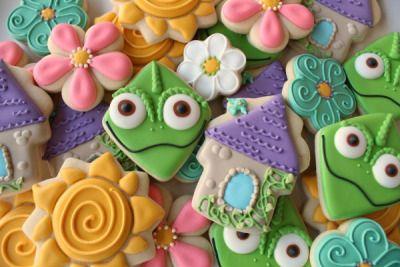 festa rapunzel enrolados ideias 2