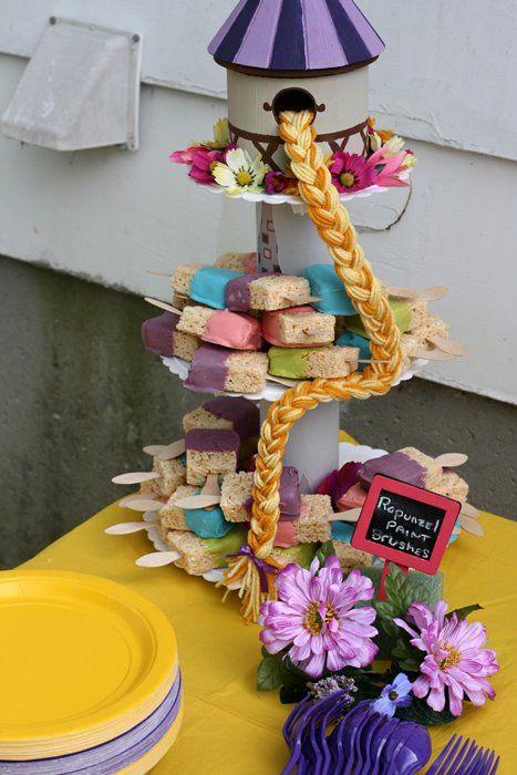 festa rapunzel enrolados ideias
