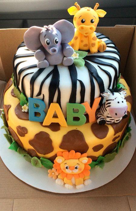 festa selva bolo crianca