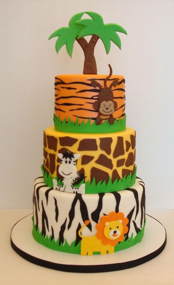 festa selva bolo padrao
