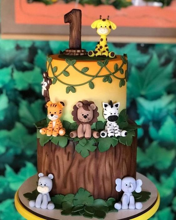 festa selva bolo