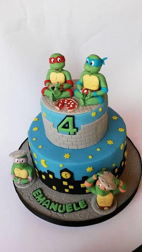 festa tartaruga ninja bolo 2