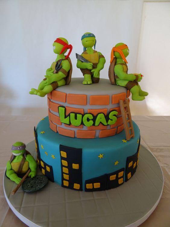 festa tartaruga ninja bolo 3