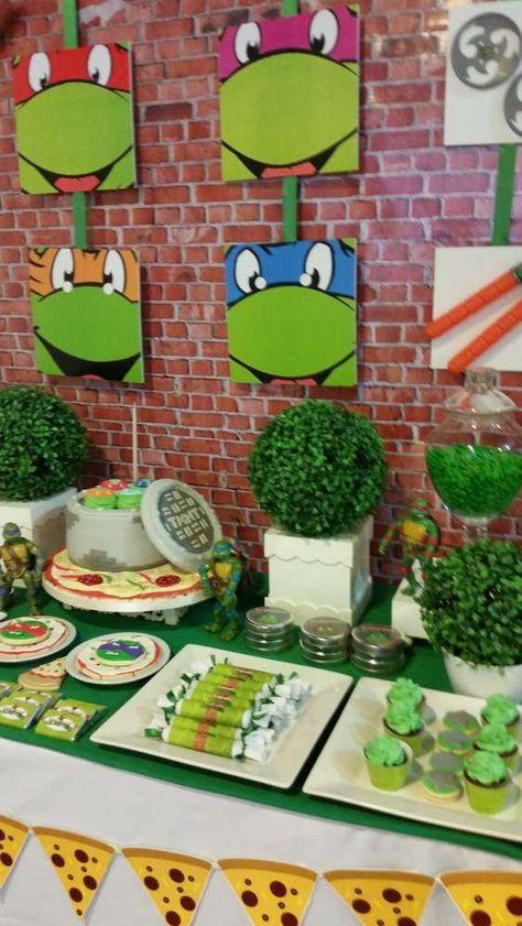festa tartaruga ninja decoracao 1