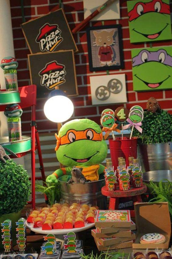 festa tartaruga ninja decoracao 2