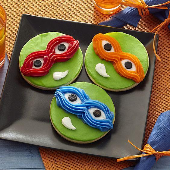 festa tartaruga ninja docinhos 1