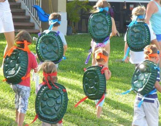 festa tartaruga ninja ideias 2