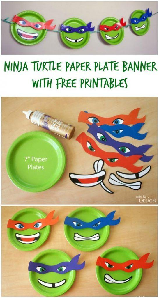 festa tartaruga ninja ideias 5