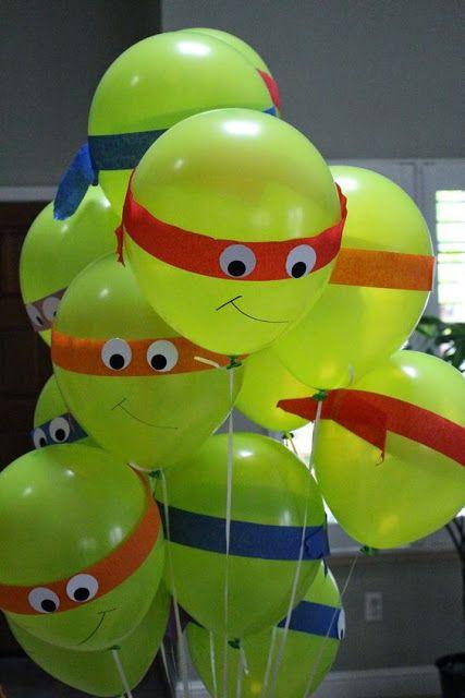 festa tartaruga ninja ideias