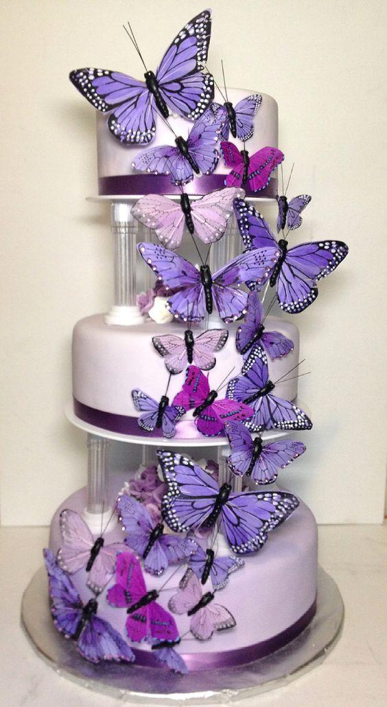 festa tema borboleta bolo 2