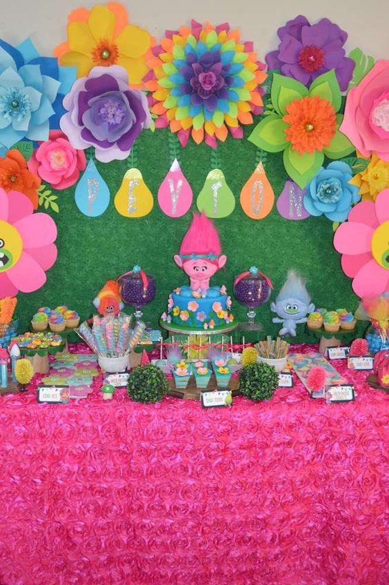 festa trolls decoracao 1