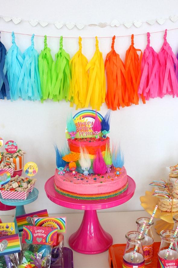 festa trolls decoracao