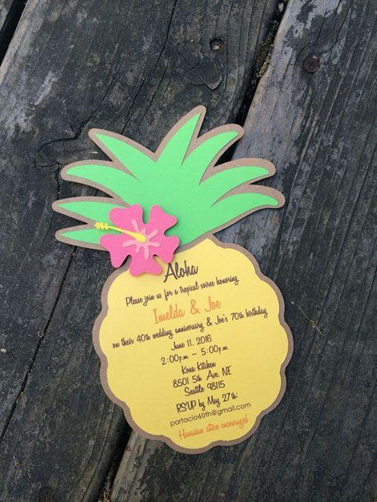 festa tropical convite