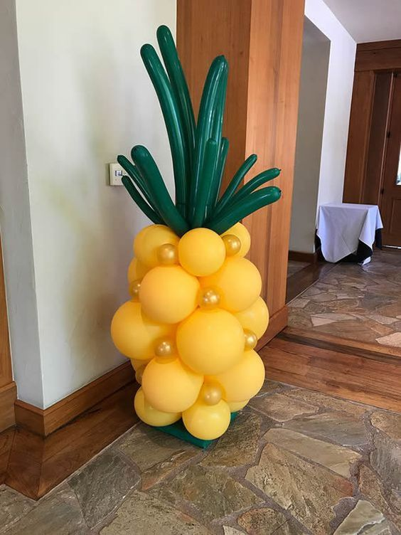 festa tropical infantil ideias