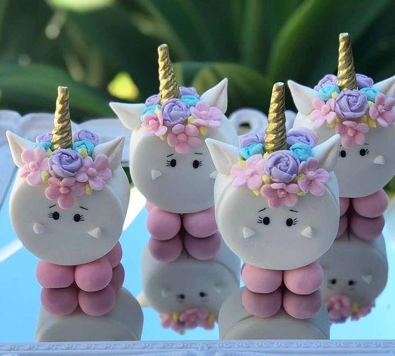 festa unicornio docinhos