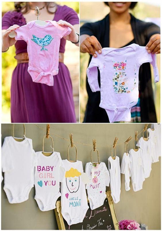 ideias criativas cha bebe bodie