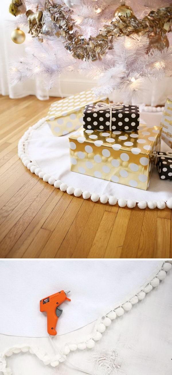 ideias de saias para arvores de natal 4