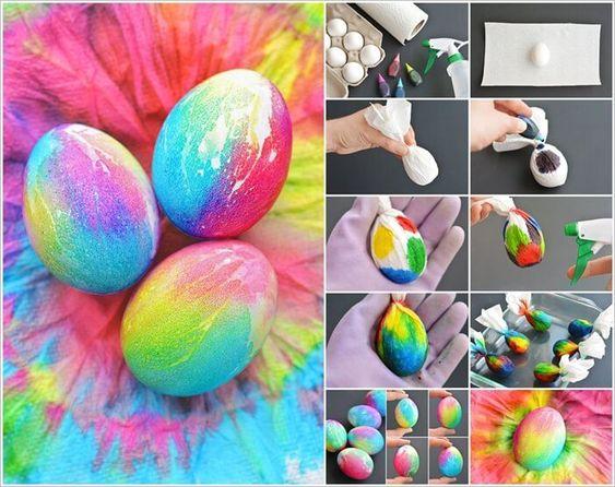 ideias decorar ovos pascoa 2