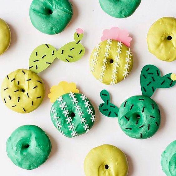 ideias decorar rosquinhas