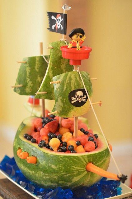 mesa fruta escultura 1
