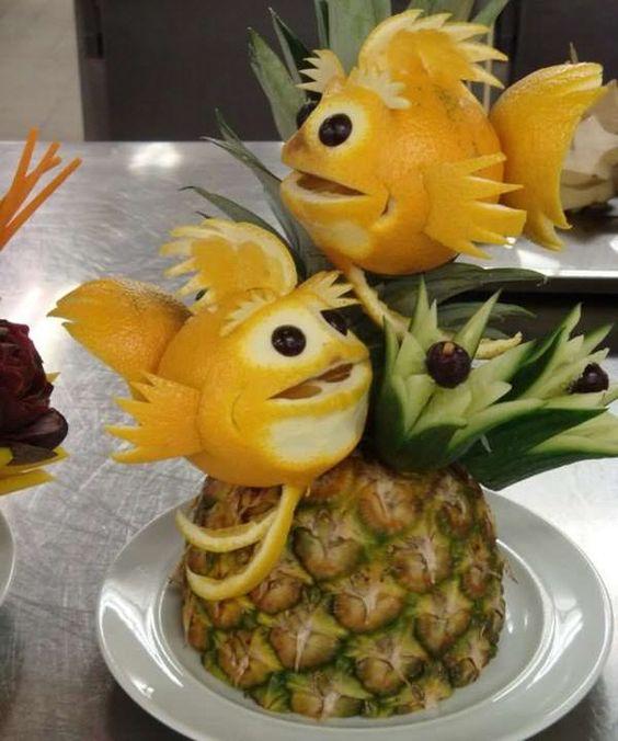 mesa fruta escultura 2