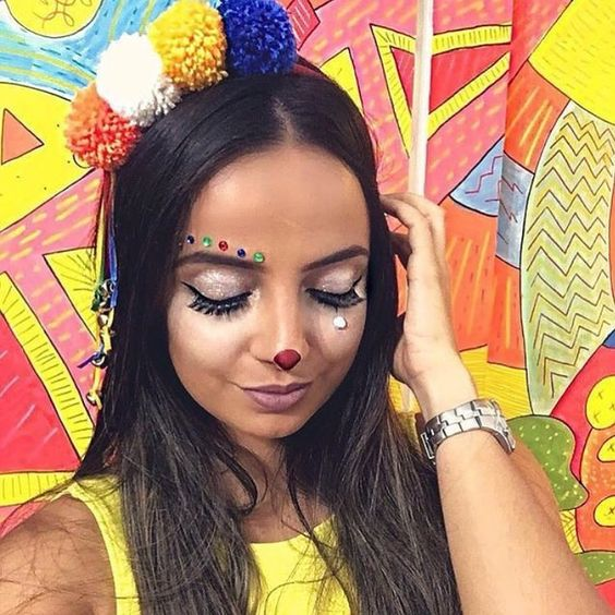 penteados carnaval 1