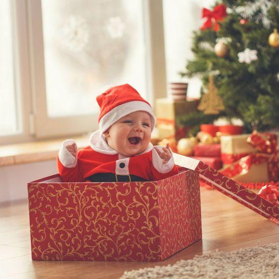 primeiro natal bebe foto 4