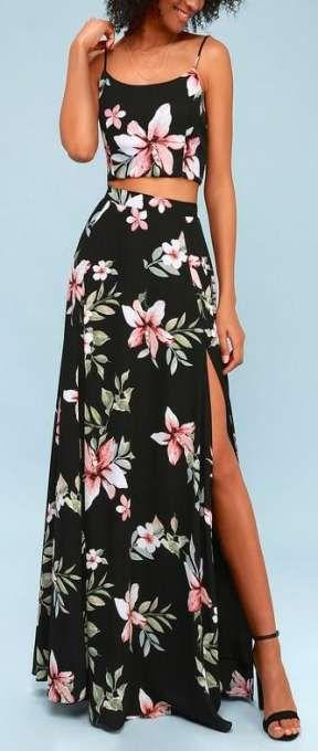 roupa reveillon floral
